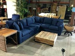 blue leather sectional navy lovely sofa cool midnight