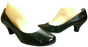 aerosoles black woman s dress casual classic wise guy heel pumps