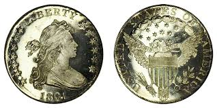 1804 Silver Dollar Value Chart 1801 Draped Bust Silver Dollar Proof Restrike Coin Value