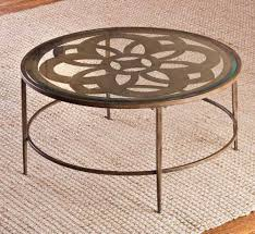 round coffee table wood metal piero 36 in round table 36 inch