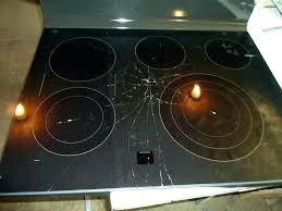 glass cooktops glass ed glass stove top profile stove top broken broken glass top stove stove