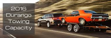 How Much Can The 2016 Durango Tow