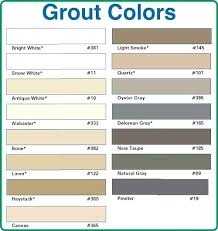 Grout Chart Tec Grout Grout Color Chart Power Pictures Tec Grout Colors