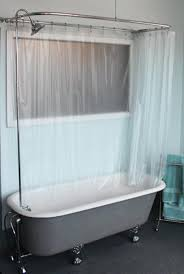 amazing ideas for oval shower curtain rod design beautiful free standing tub shower curtain