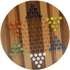 Wooden Aggravation Board Game Chinese CheckersIrk Aggravation Combination Board 61