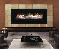 modern interior room decor with contemporary fireplace insert gas cool family room ideas with black leather sectional sofa and coffee table and modern
