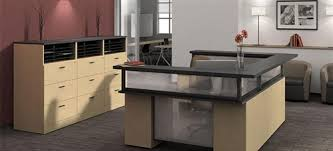reception office desks. Global Zira Series U Shaped Reception Desk With File Cabinets Office Desks