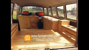 Modifikasi Interior Combi  Kayu Jati BelandaWhatsApp  081290008038   YouTube