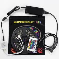 bathroom led lighting kits. Get Quotations · SUPERNIGHT (TM) 5050 RGB Flexible LED Strip Lights Christmas Xmas Halloween Color Changing Bathroom Led Lighting Kits G