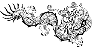 Small Picture Coloring Chinese dragon picture