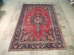 vintage persian handmade 7 10 carpet tabriz perfect gift safavieh soho brown handmade area rug