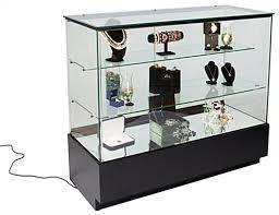 glass jewelry showcase