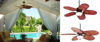 ceiling fan outdoor. 52 casa vieja rattan outdoor tropical ceiling fan