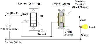 lovable wiring a 3 way dimmer wiring diagram images database how to install a dimmer switch with 3 wires at 3 Way Dimmer Wiring Diagram