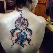 Dream Catcher Tattoo Color 100 Gorgeous Dreamcatcher Tattoos Done Right TattooBlend 16
