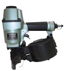 hitachi roofing nailer. hitachi nv65an coil pallet nailer #nv65an roofing