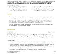 Resume Of Interior Designer Architecture Resume Template Business ...