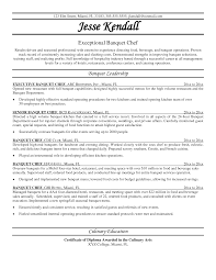 Chef Resumes Examples 66 Images Executive Chef Resume