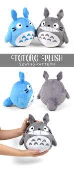 Plush Pattern Awesome Free Pattern Friday Totoro Plush Choly Knight