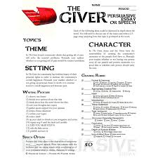topics for the giver essay topics for the giver