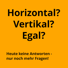 Contact us via the contact form or use these details: Horizontal Vertikal Oder Egal Different Thinking
