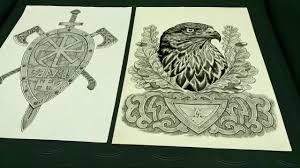 тату эскиз мастер велеслав мастерская велес тату солнечногорск зеленоград клин