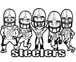 coloring football players coloring pages printable