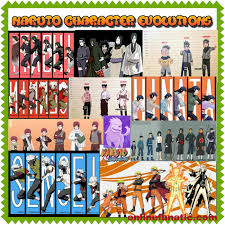 Naruto Sensei Chart The Evolution Of Naruto Shippuden Characters How Are They
