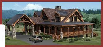 log cabin home plans designs