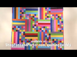 How To Make the Rain Stick Quilt - YouTube &  Adamdwight.com