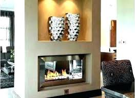 double sided gas fireplace insert double sided fireplace insert double