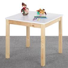... Kids room, IKayaa Children Square Wooden Table OR Chairs Kids Playing  Activity Room Wooden Kids ...