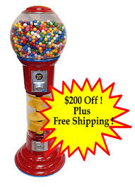 Vending Gumball Machine Extraordinary 48 Foot Spin Drop Spiral Gumball Machine