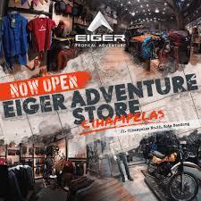 Kings shopping centre, lt.2 kav. Eiger On Twitter Now Open With A New Concept Eiger Adventure Store Jalan Cihampelas No 22 Bandung Eigeradventure Eigertropicaladventure Https T Co Lsfvct2zwb