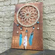 How To String Dream Catcher MADE TO ORDER Dream Catcher String Art wood Sign Native 71