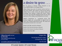 Welcome Tiffany Boswell Infocus Real Estate Group