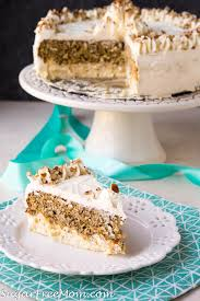 Low Carb Carrot Cake Cheesecake Keto Nut Free Gluten Free