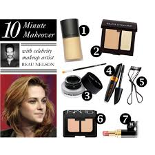 what s the best make up look if you only have 10 minutes 1