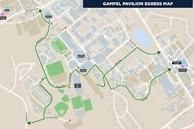 New Traffic Patterns For Basketball Games At Gampel