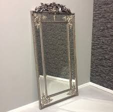 silver cimiero full length mirror