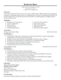 Early Childhood Education Resume Objective Samples. Sample Resume ...
