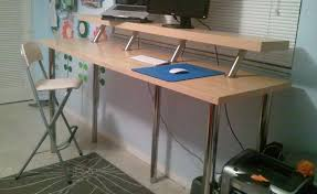 8 build a diy wide adjule height ikea standing desk on the