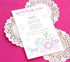 Disney Princess Printable Baby Shower Invitations Disney Baby