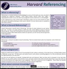 Harvard Referencing Example Essay Harvard Style Referencing Libguides At Dublin Business