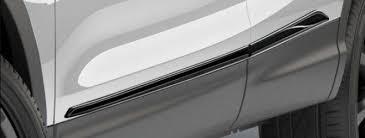 <b>Молдинги боковые</b> (<b>черные глянцевые</b>) Nissan KE760HV50B для ...