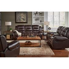 titan elite living room reclining sofa loveseat chocolate titanel2pcchlr