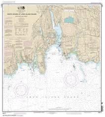 Fishers Island Sound Nautical Chart 13211 North Shore Of Long Island Sound Niantic Bay And Vicinity Nautical Chart