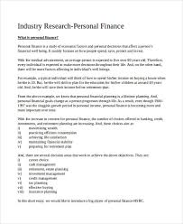 personal plan examples samples personal finance retirement plan