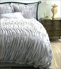 jersey knit twin xl college comforter duvet cover grey