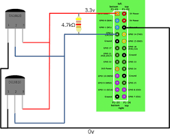 temperature sensor project using ds18b20 privateeyepi project multiple ds18b20 temperature sensor circuit diagram